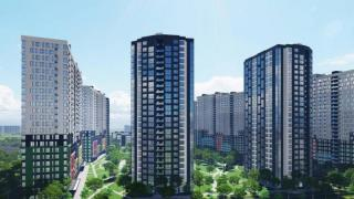 Residential complex StarCity is located in the Dnieper district of Kiev along Kaun street