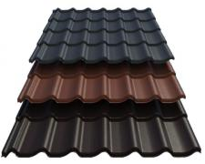 Selling metal products, corrugated board and metal tiles